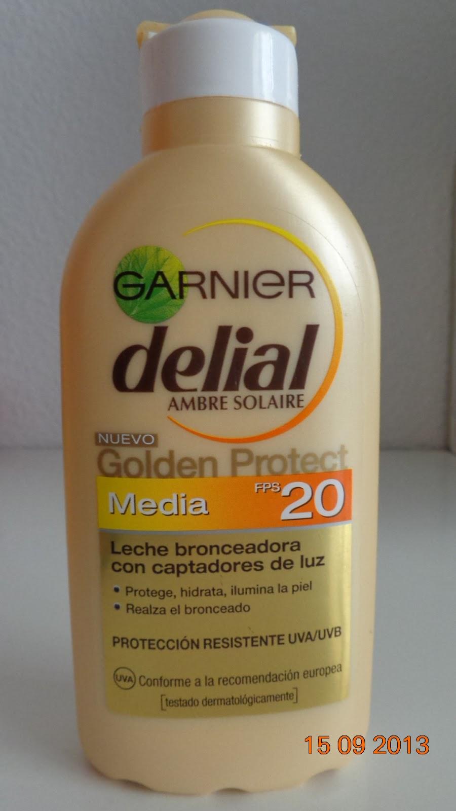 Garnier Delial Ambre Solaire Golden Protect SPF20