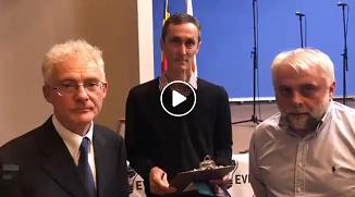 VIDEO: Vladimir Pustan îl recomandă şi susţine pe Peter Costea pentru alegerile europarlamentare!