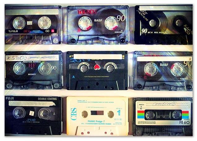 Musique sur cassette