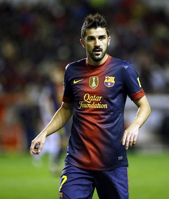 David Villa FC Barcelona