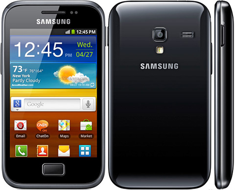 Gambar Hp Samsung Galaxy Ace Plus S7500