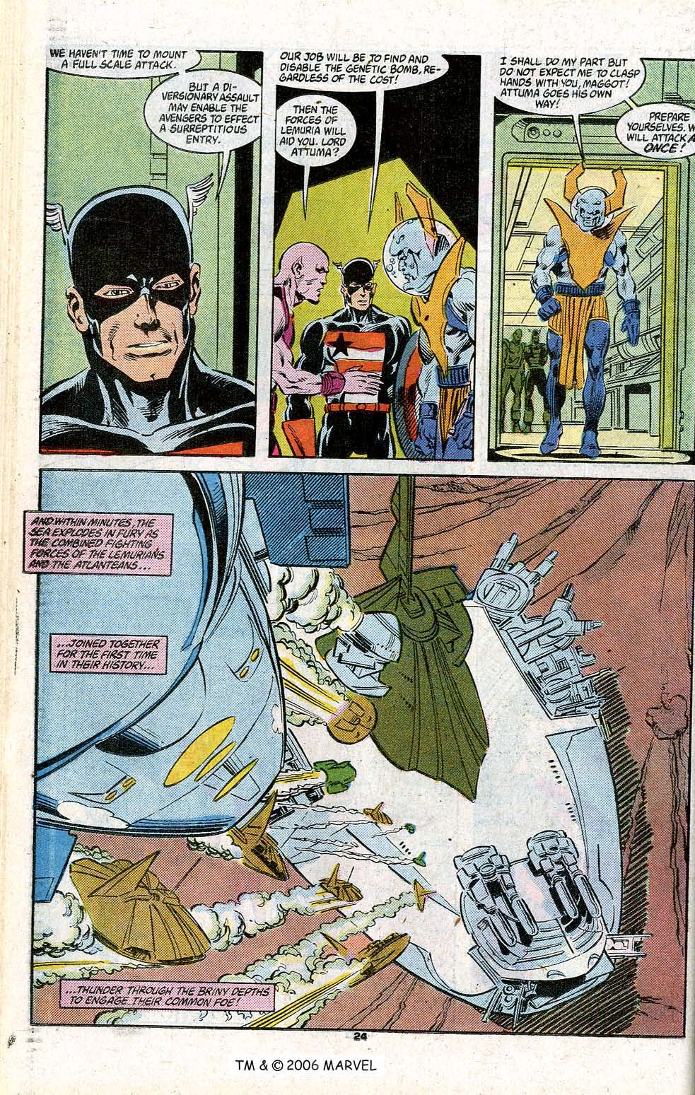 Captain America (1968) Issue #348c #280 - English 26