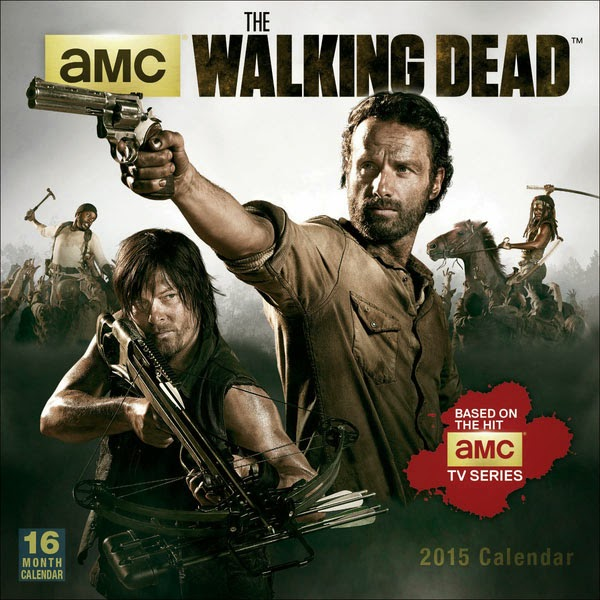 Calendario The Walking Dead 2015