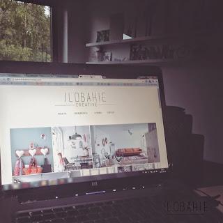 Strona internetowa magazynu o wnętrzach, designie i sztuce