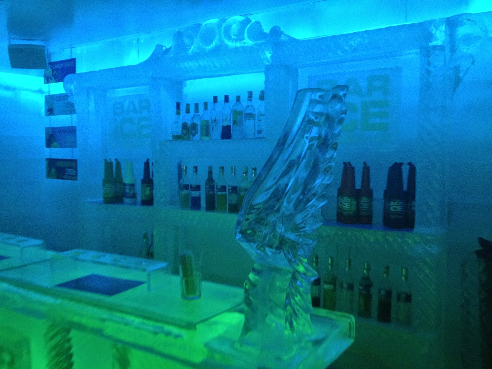 Koh Samui ice bar Thailand