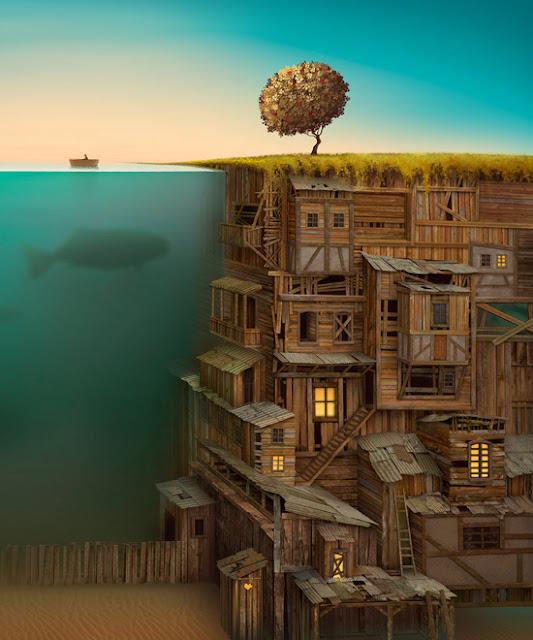 casas en lo profundo