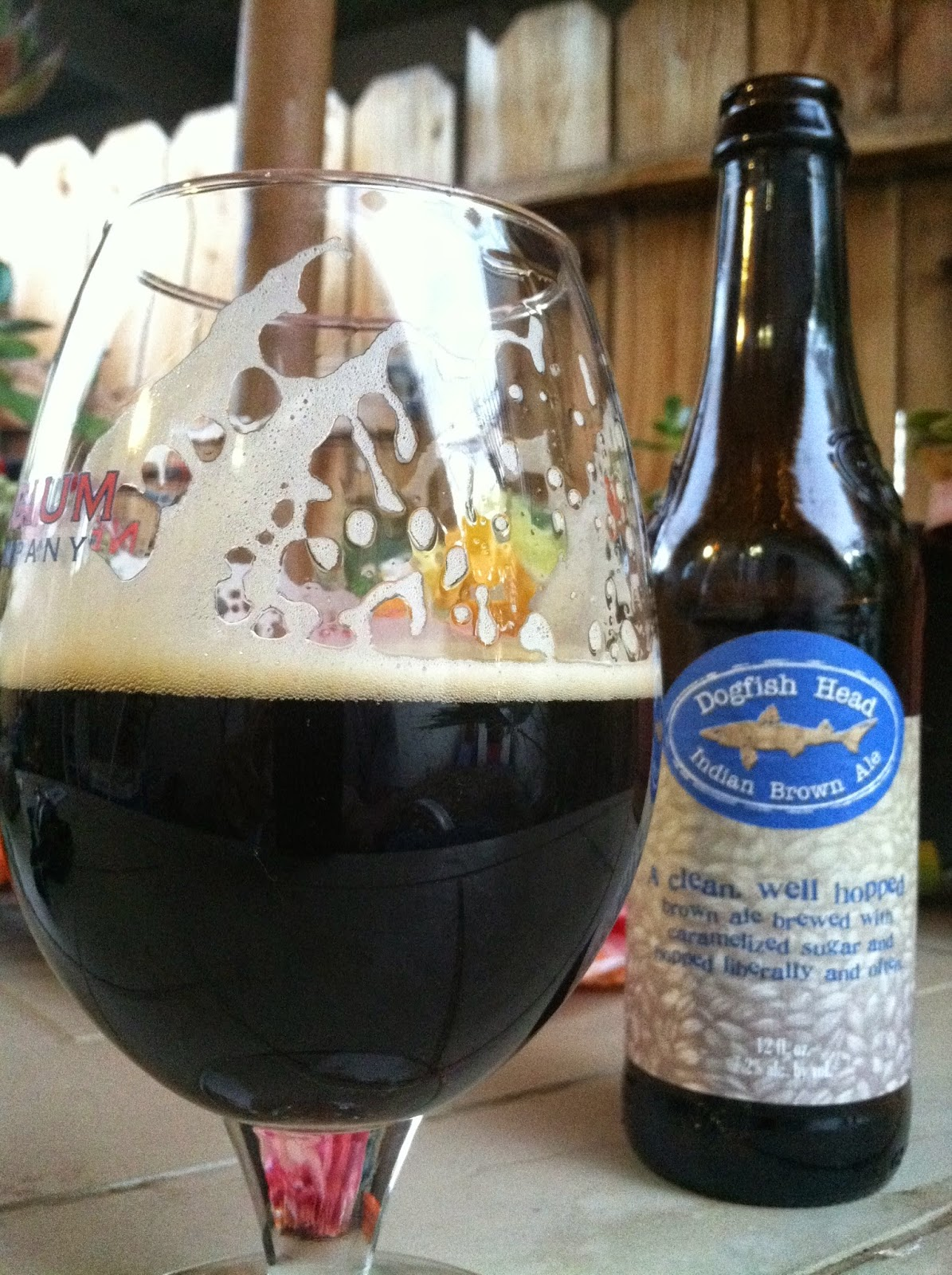 Dogfish Head Indian Brown Ale 2