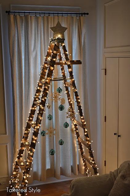 La chica del malet n 10 ideas originales para hacer tu for Como hacer un arbol de navidad original