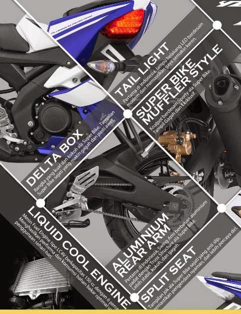 Yamaha R15 dan Yamaha R25 Motor Sport Racing dan Kencang