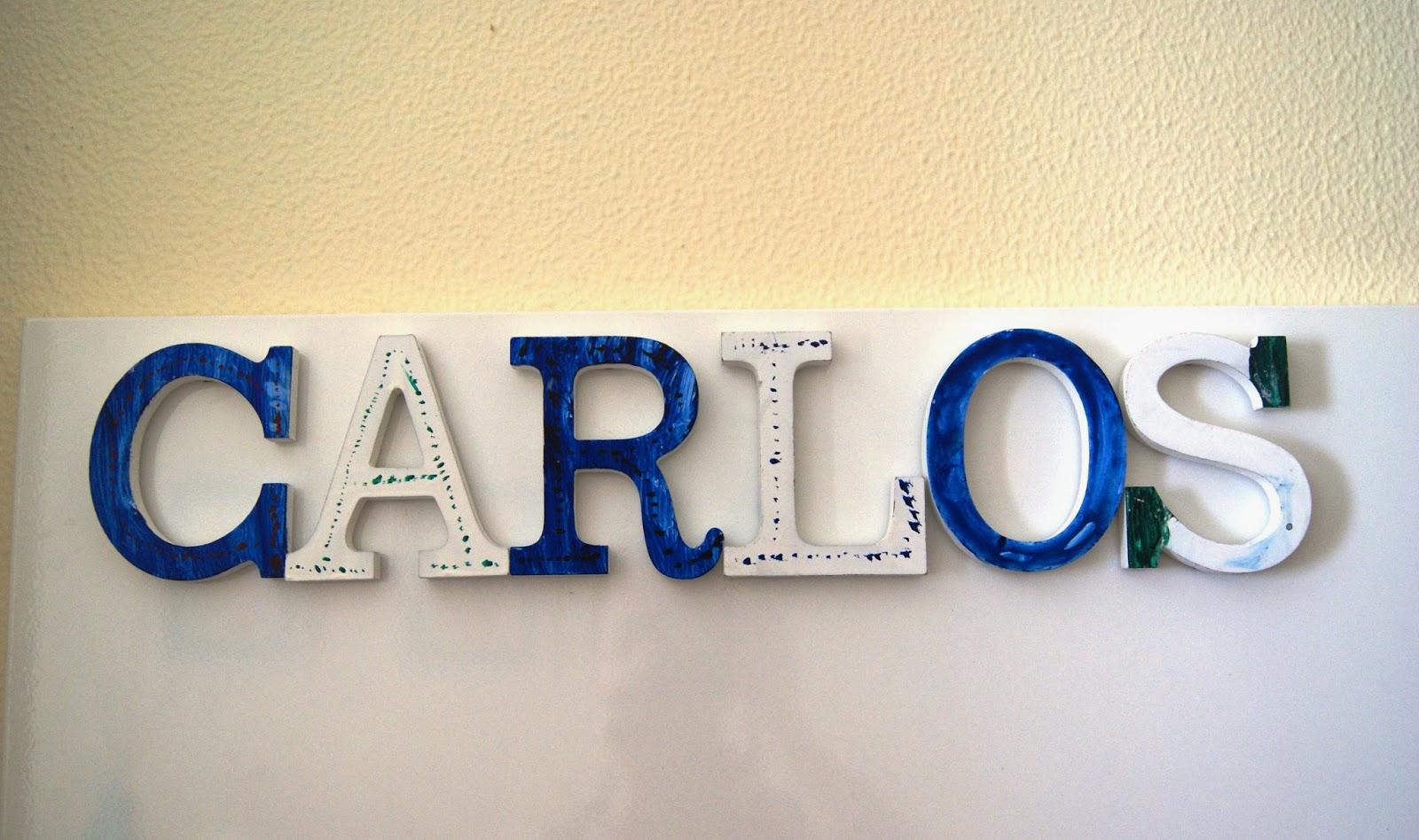 Ruca la casa de los complementos letras de madera - Letras en madera ...