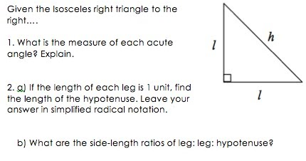Worksheets Special Right Triangles 45 45 90 Worksheet special right triangles 45 90 worksheet delibertad sharebrowse