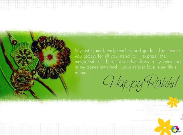 You`ll never lose me.  I will always be here.  Happy Raksha Bandhan