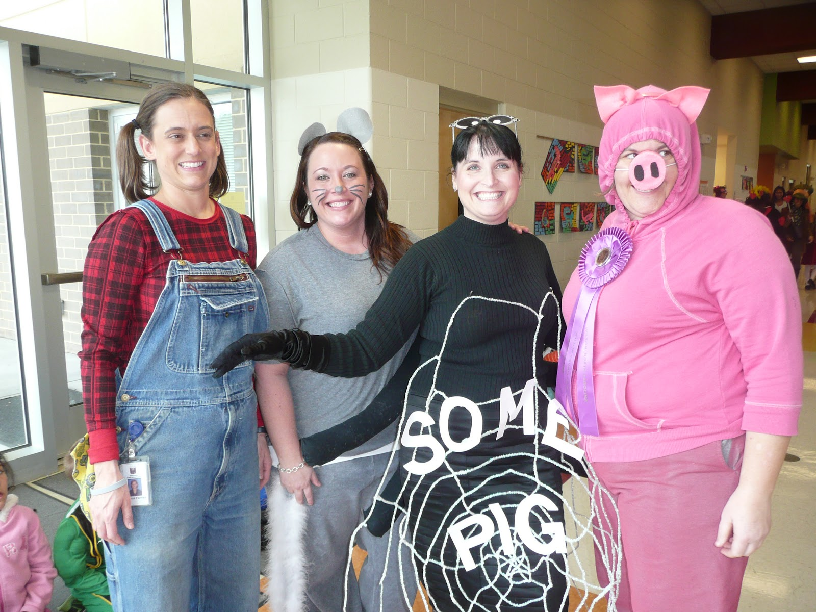 Charlottes web characters ideas for office spirit week view original
