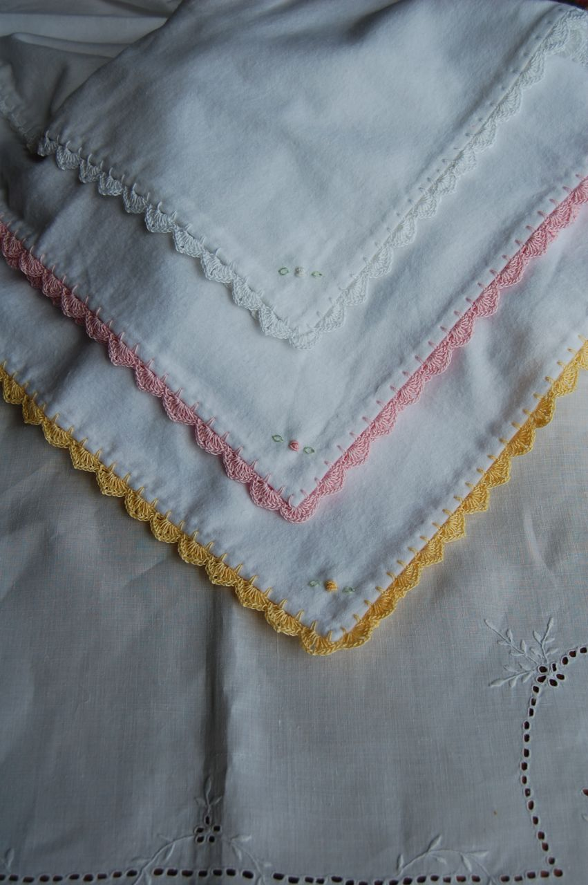 Flannel Baby Blanket Crochet Edging Patterns : The Old Fashioned Baby Sewing Room: Flannel Baby Blankets.