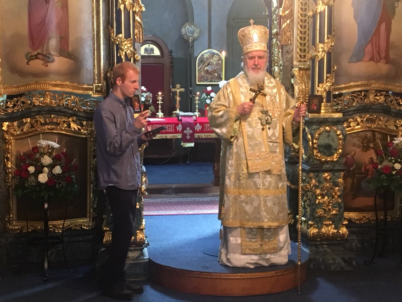 Епископ Константин богослужио у Футогу