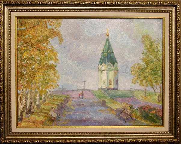 часовня красноярск картина маслом