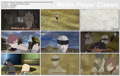 "Download Film / Anime Naruto Episode 322 ""Uchiha Madara"" Shippuden Bahasa Indonesia"