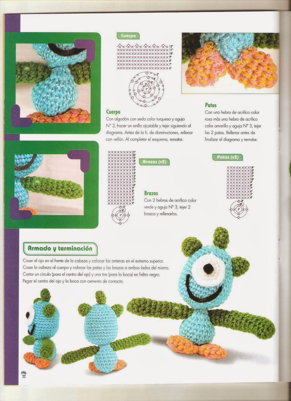 Juegos De Baño Lindos:Como hacer Pato Donald en crochet – Revistas de manualidades Gratis