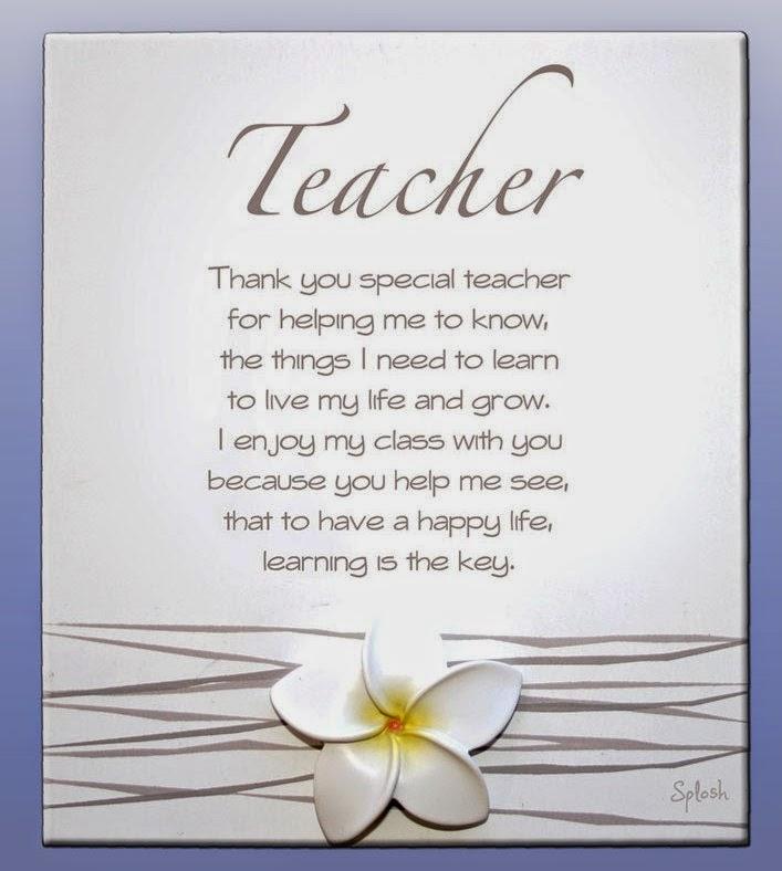 Happy Teachers Day on Teacher Poems
