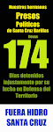 162 das detenidos. Presos Polticos !Libertad!