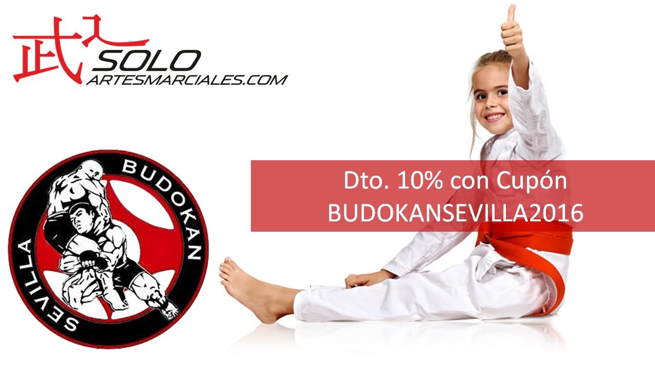 Descuento del 10% con Cupón BUDOKANSEVILLA2016