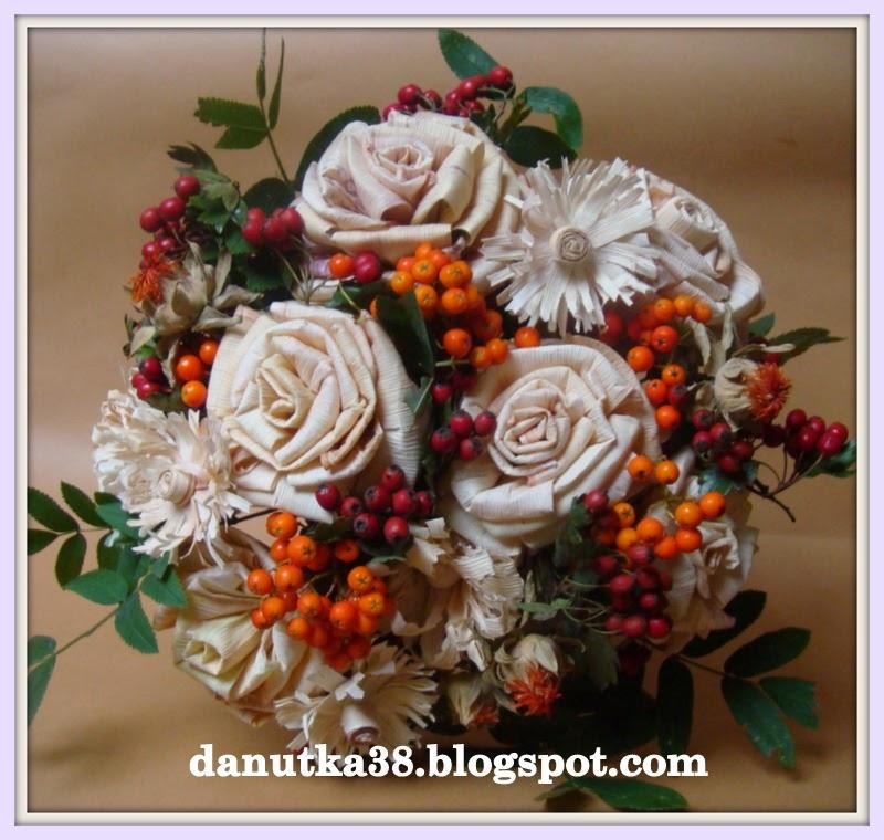 florystyka,kwiaty z liści