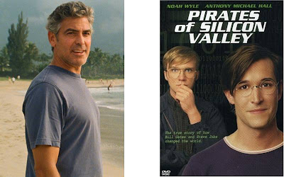 George Clooney e Noah Wyle nma briga pelo papel de Steve Jobs no cimena