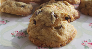 Galletas con chocolate y cacahuete, receta, cookies