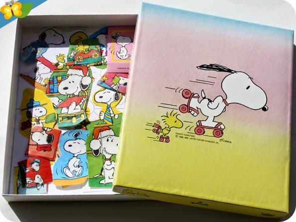 mon ancien papier à lettre Snoopy - Peanuts caracters de la marque Hallmark