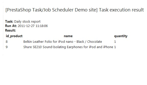 Module Agile Taskjob Scheduler For Prestashop Paid Modules – Scheduler Job Description