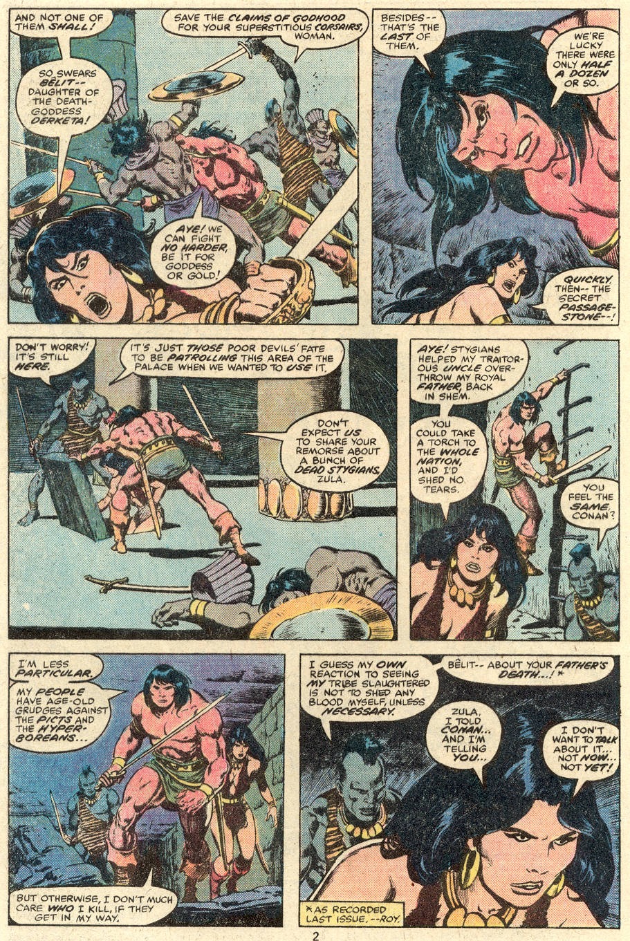 Conan the Barbarian (1970) Issue #89 #101 - English 3