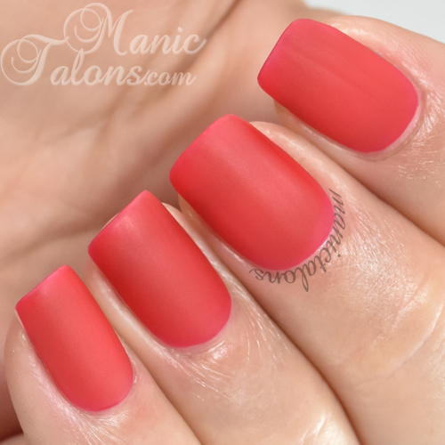 BMC Arabesque Ceramic Matte Gel Polish Swatch