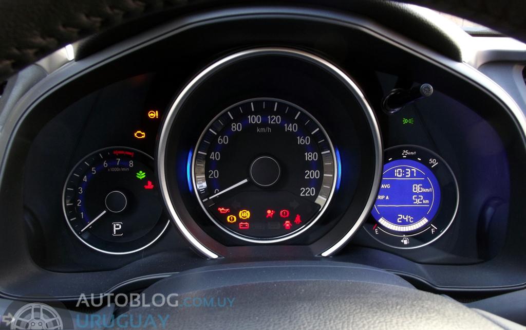 Prueba Honda Fit 15 I VTEC EX CVT Autoblog Uruguay