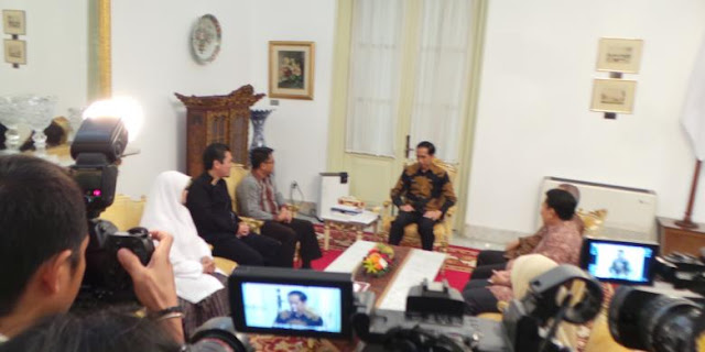 Jalin Komunikasi Politik, PKS Silaturahim Ke Presiden Jokowi di Istana Merdeka