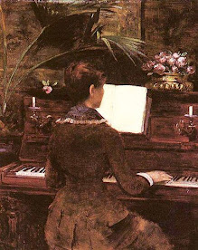 Louise Abbema - Al pianoforte (1897).