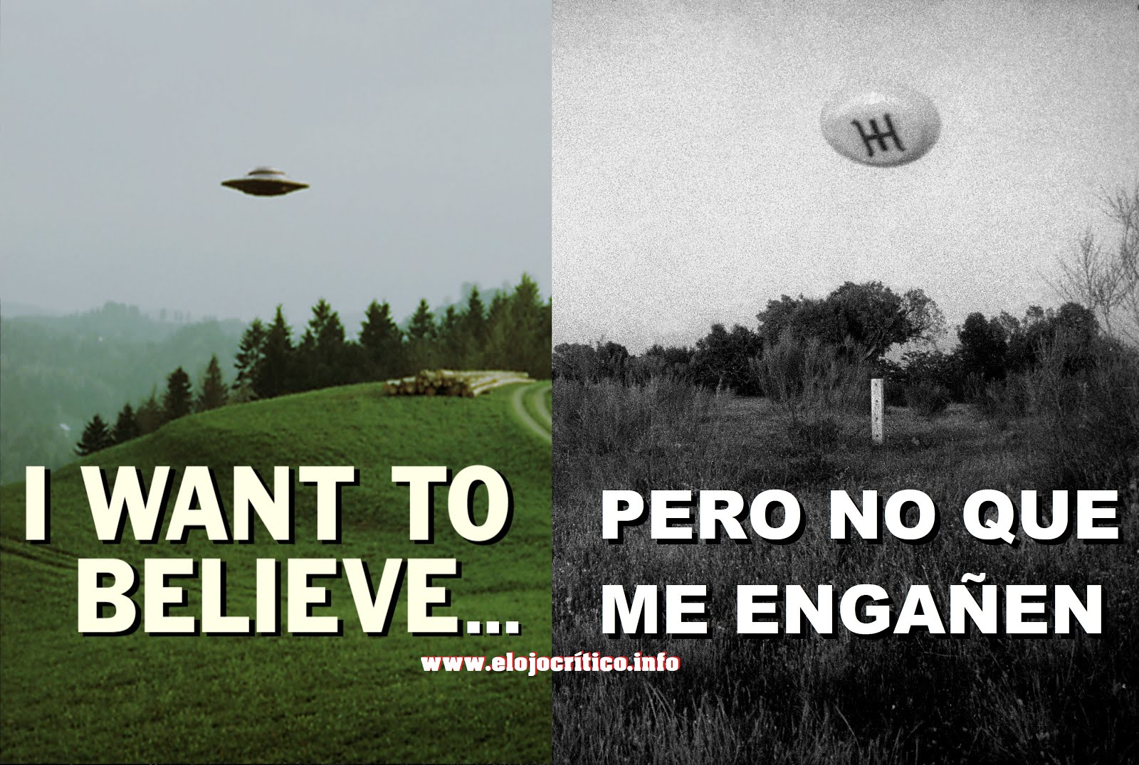 I want to belive...