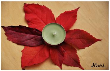 Sonbahara özel tealight