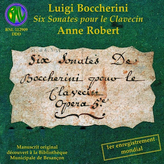 Boccherini: Six sonates pour le clavecin