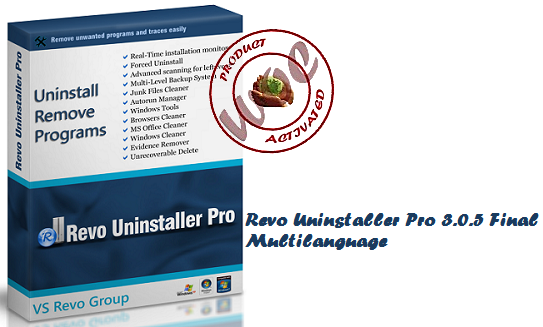 Revo Uninstaller Pro 3.0.5 Final Full Version With Crack