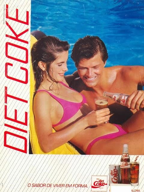 Publicidade de Lançamento DIET COKE com Caetano Zonaro