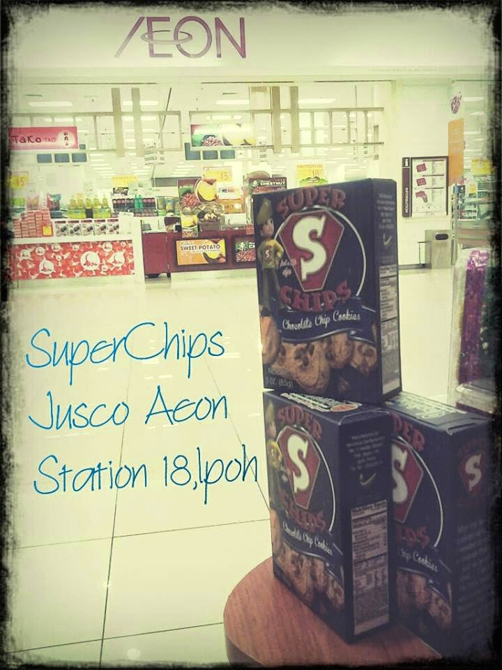 Superchips Cookies Di Jusco Aeon Station 18 Ipoh