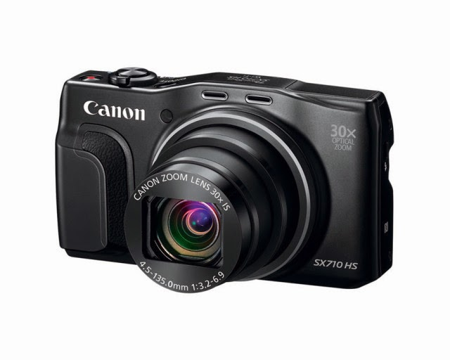 Canon PowerShot SX710 HS Provides NFC Connectivity.