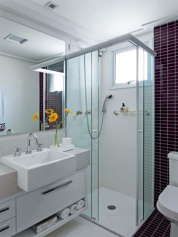 Ideias Banheiros Pequenos : Banheiros pequenos grandes ideias vista a casa por