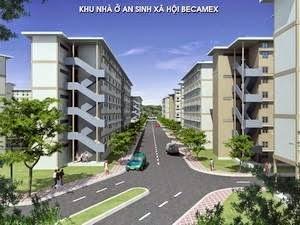 Nhà ở xã hội tại KDC Việt Sing, Thuận An, Bình Dương ảnh 1
