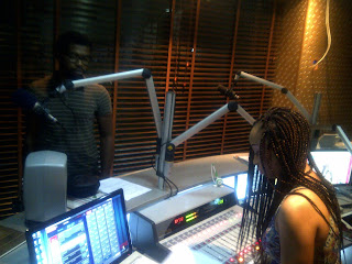 August Udoh and Toke Makinwa, Rhythm Studio