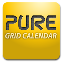 Pure Grid Calendar Widget v2.5.4