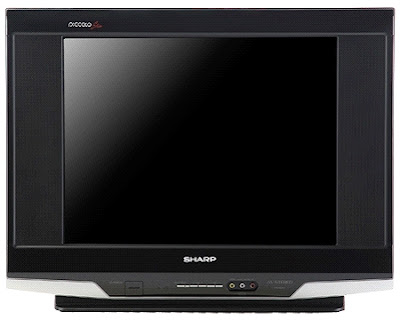 Harga TV CRT Slim Flat SHARP Baru Dan Bekas