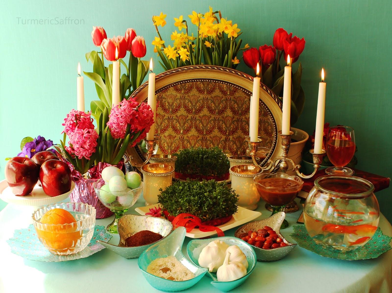 Turmeric & Saffron: Haft Seen Photos - Nowruz 2014 Persian Haft Seen