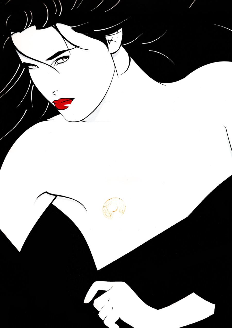 Patrick Nagel Illustrations. Doctor Ojiplatico