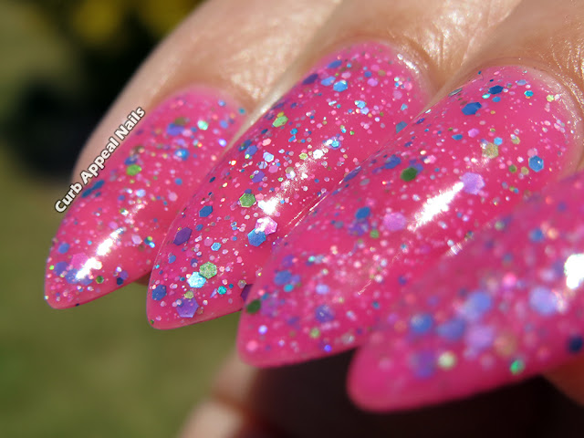 KBShimmer Pink-a Colada Swatches